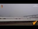 Очевидец снял на видео обрушение моста в Генуе