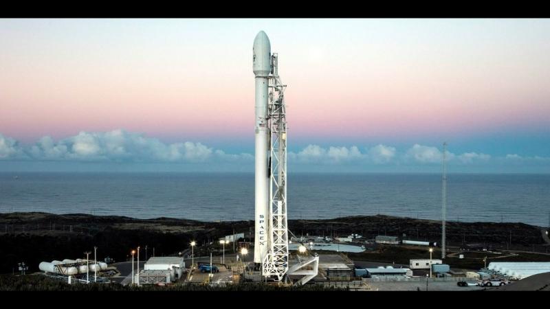 LIVE: запуск ракеты Falcon 9 со спутниками Iridium NEXT и GRACE-FO