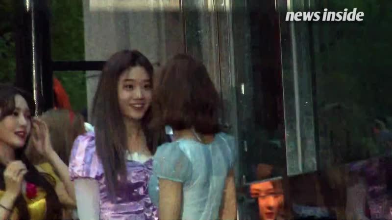 [영상] 프로미스나인, 눈부신 동화 속 공주님 '예쁨 폭발' (뮤직뱅크)