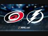 Полный матч Carolina Hurricanes vs Tampa Bay Lightning Октябрь 17, 2018