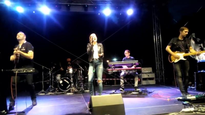 Kristína a Band - V sieti ťa mám, Si pre mňa best a Pri oltári Mať srdce (začiatok), 14.09.2017, Humenné
