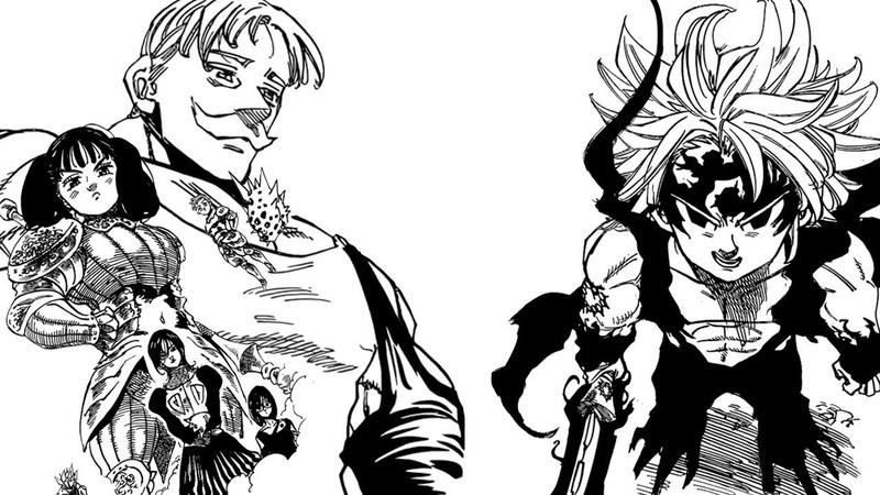 Nanatsu no Taizai Chapter 230: The Chosen Warriors