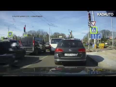 Лайфхак как сэкономить 10 минут и не стоять в пробке перед кольцом на 9 Апреля в Калининграде.