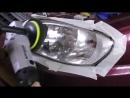 Полировка фар + Оклейка оптики бронепленкой