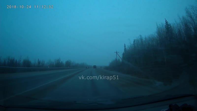 Уступил скорой на трассе Апатиты-Кировск и не умер