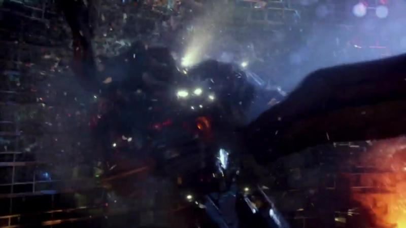Боевой Робот «Бродяга» против летающего кайдзю «Отачи»