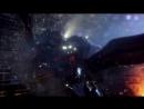 Боевой Робот Бродяга против летающего кайдзю Отачи