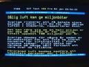 Psykopater begår grova miljöbrott över Sverige 5 januari 2013 Vädermanipulering chemtrails