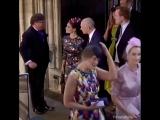 Том и Шарлотта на свадьбе Принца Гарри и Меган Марки