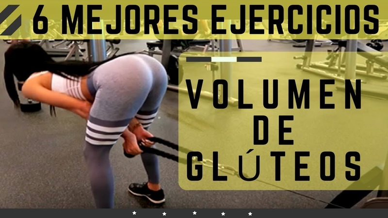 Rutina de glúteos con 6 ejercicios para volumen| Exercises To Increase Buttocks