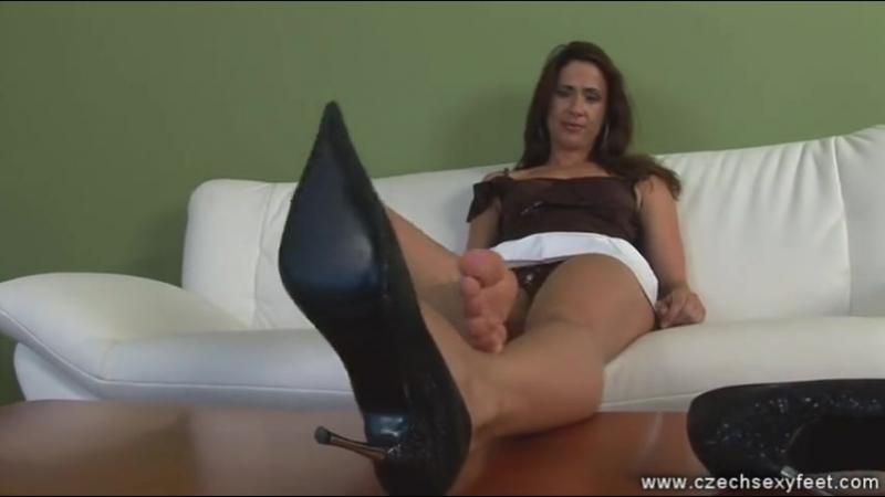 Dita Feet Shows Tickled