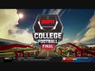 NCAAF 2018 / Week 08 / College Football Final / EN