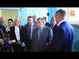 Глава Марий Эл в Волжске. 14.09.2018 (Видео).