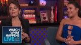 Lea Michele And Bethenny Frankel Talk Bravo | RHONY | WWHL