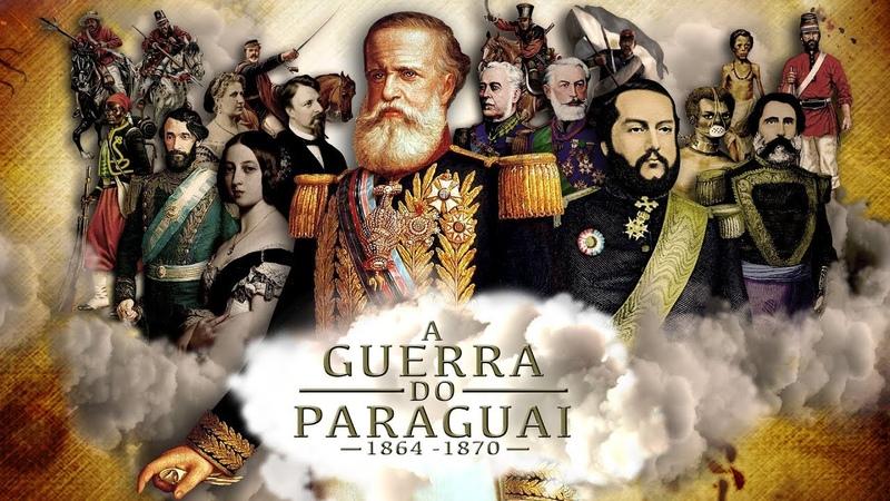 A GUERRA DO PARAGUAI 1864 a 1870 – O maior conflito armado da América do Sul – Imagens raras