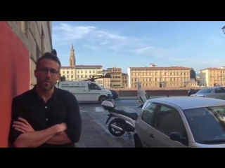 6 Underground - Видео со съёмок с Райаном Рейнольдсом