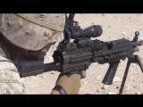 Пулемет M249 с магазином на 30 патронов _ Тренировочные стрельбы на полигоне