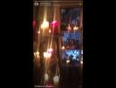 Прямой эфир в Instagram с павильона Гадалки.