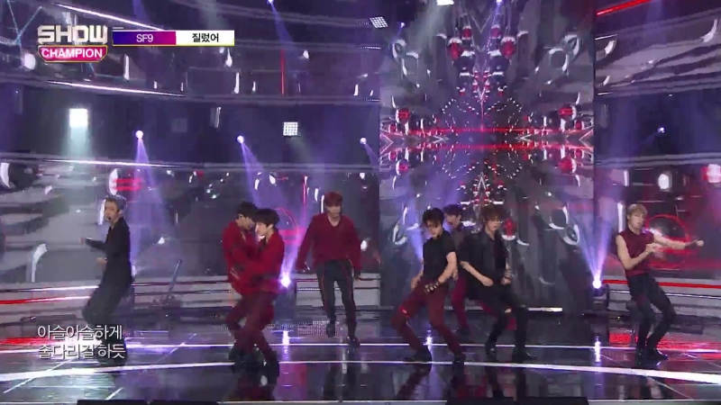 180815 SF9 - IntroNow or Never @ Show Champion
