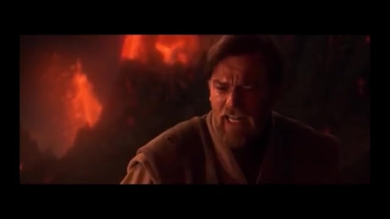 Obi-Wan derrotando Anakin ao som de 'My Heart Will Go On'