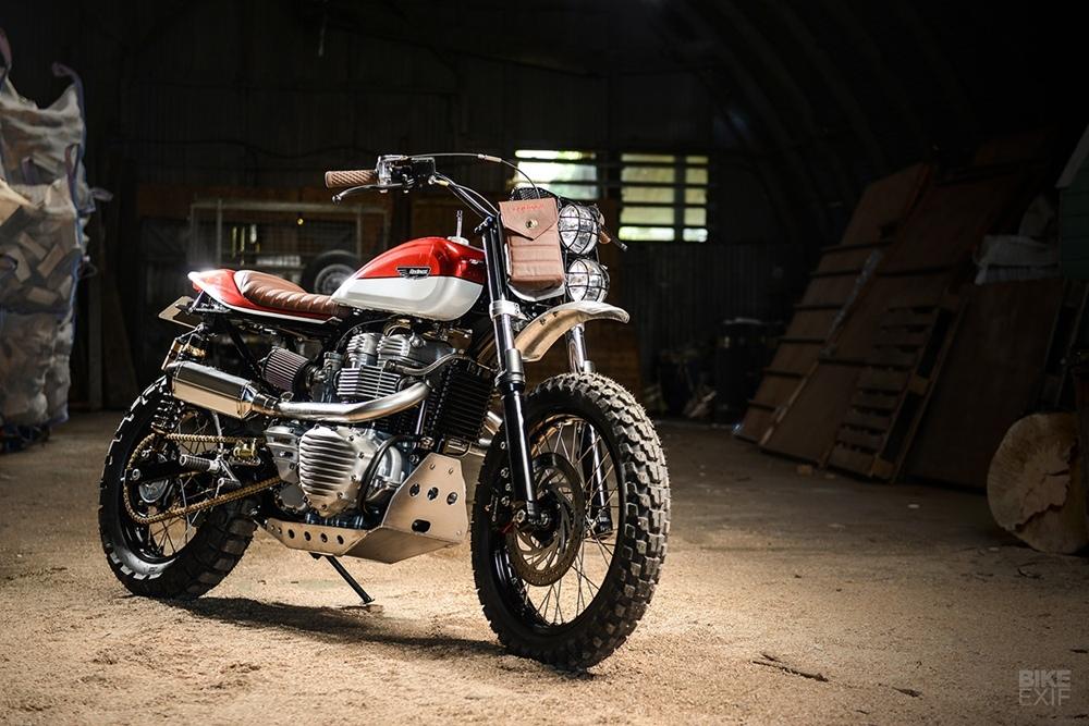 Redmax Speed Shop: скрэмблер Triumph