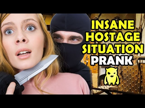 INSANE Hostage Situation Prank - Ownage Pranks