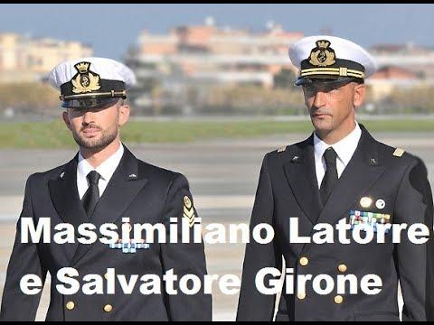 I due Marò. Ricordate?Massimiliano Latorre e Salvatore Girone..che fine hanno fatto..come stanno?