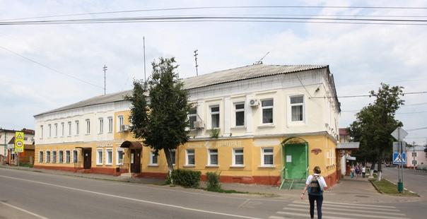 Странно отреставрированное здание
