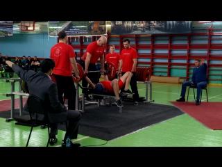 Мой новый личный рекорд в жиме лёжа 90 кг (Открытый чемпионат и первенство Нижегородской области по пауэрлифтингу)