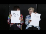 Noel Fielding & Sandi Toksvig Tested How Well They Really Know Each Other And Things Got Weird