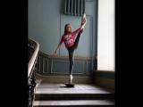 Юная артистка балета Яна Черепанова из Санкт-Петербурга