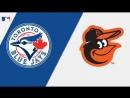 AL 28 08 2018 TOR Blue Jays @ BAL Orioles 2 3