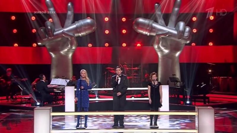 Грант Меликян, Маргарита Волкова и Екатерина Косолапова - Высоко (ГолосДети - 1 сезон - 2014)