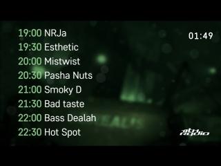 NRJa, Esthetic, Mistwist, Pasha Nuts, Smoky D, Bad Taste, Bass Dealah, Hot Spot - Live @ TimeofNight (19.09.2018)