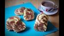 Chocolate Zebra Roll Cake | Suka Suka Amel