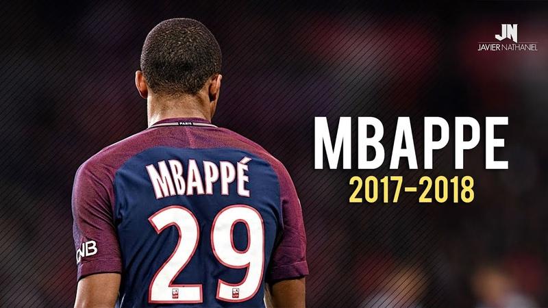 Kylian Mbappé - Dribbling Skills Goals 20172018