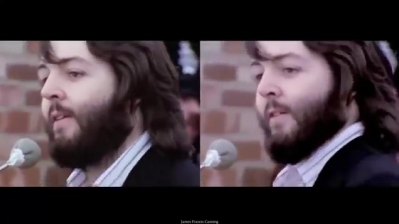 THE BEATLES_ GET BACK _Rooftop Performance 69 Split Screen[HQ]
