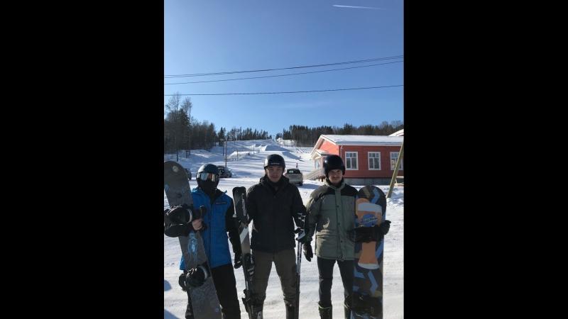 HellBus bro ™ Sn❍wboarders Skiers Красное озеро 3 03 2018