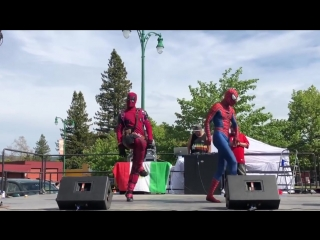 DEADPOOL and SPIDERMAN Dance Collaboration