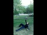 элементы жонглирования гири 16 кг и турецкий подъем
