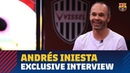 EXCLUSIVE ANDRÉS INIESTA I hope I can be back at La Masia in the future