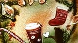 Песочная анимация Новый Год, художник Анна Ива