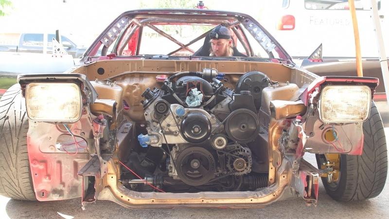 V8 Swapped Supra Drift Car Sees The Light