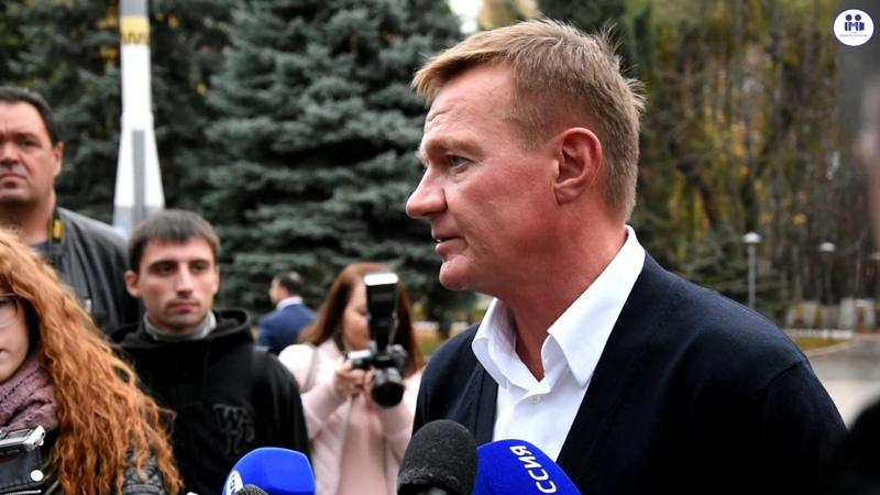 Роман Старовойт посетил ЮЗГУ