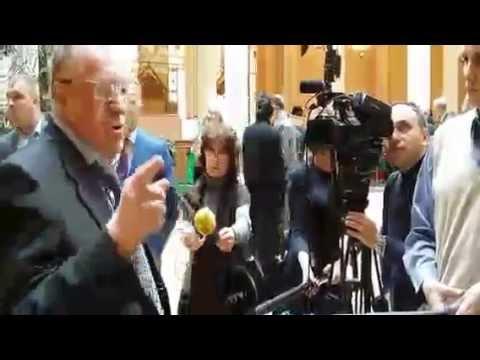 Жириновский Владимир в Храме Христа Спасителя 2016 год