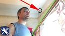 ✅ Как повесить карниз для штор - БОЛЬШАЯ ДЫРКА / Мелкий ремонт