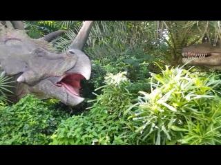 дино парк. динозавры