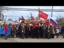 """9 мая  2018 года    прохождение """"Бессмертного полка""""  по улицам  пос. Урдома  Ленского района"""