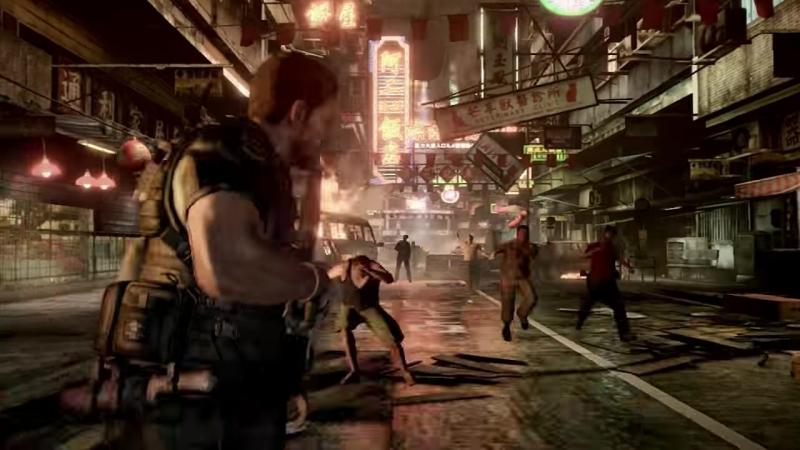 Resident Evil 6 reveal trailer.