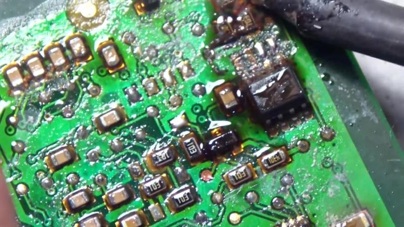 ремонт расходомера воздушного